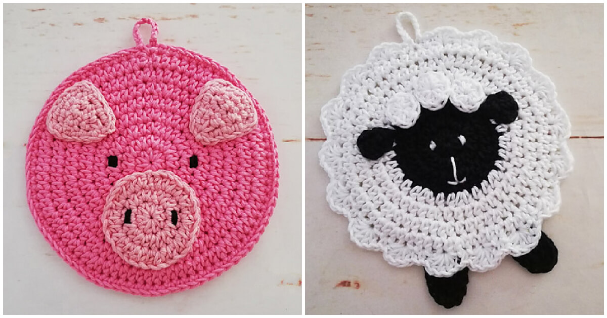 These Free Top 3 Crochet Animal Potholder Patterns makes the craft much easier to complete.