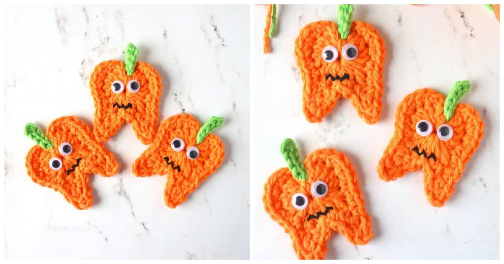 We are going to learn How to Crochet Halloween Tooth Pumpkin. This crochet Pumpkin will make a cute handmade gift for your favorite dentist.