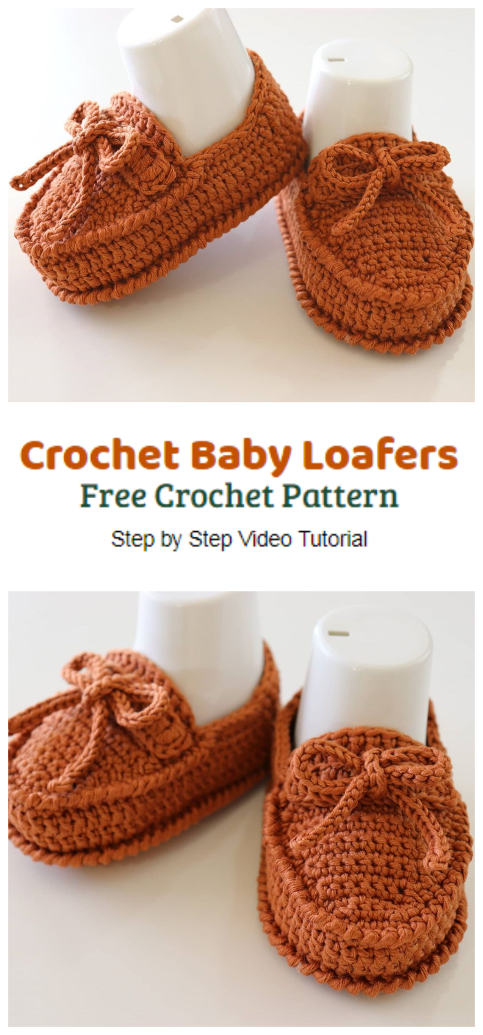 Today we are going to learn How to Crochet Baby Loafers. These Crochet Shoes is soft and warm. Baby loafers are fashionable and comfortable for baby.